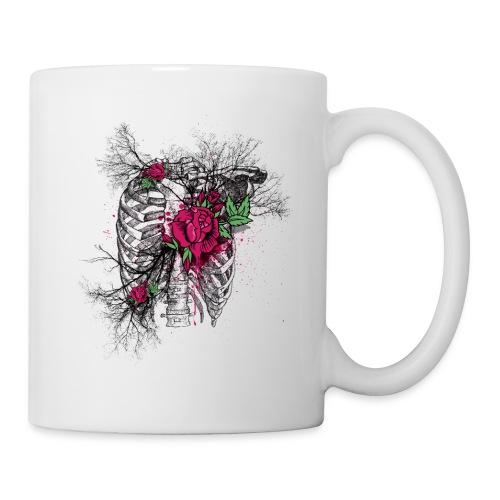 Skeleton Rose - Coffee/Tea Mug