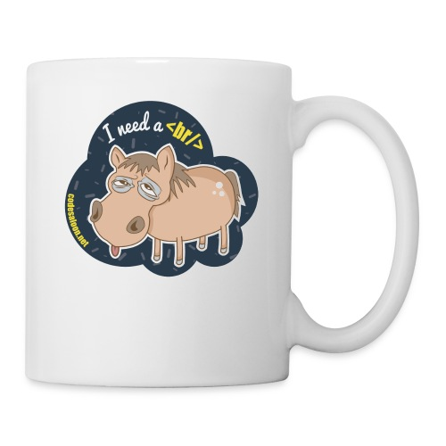 Code Saloon - I need a break - Coffee/Tea Mug