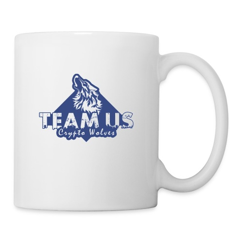Team Us - Crypto Wolves - Coffee/Tea Mug