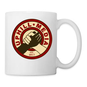 Uphill Media Logo - Coffee/Tea Mug