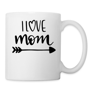 i love mom 5252 - Coffee/Tea Mug