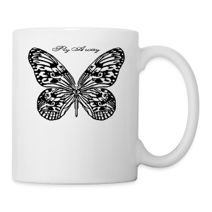 Fly Away B - Coffee/Tea Mug