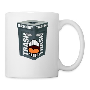 Trash Mouth Large Logo - Coffee/Tea Mug