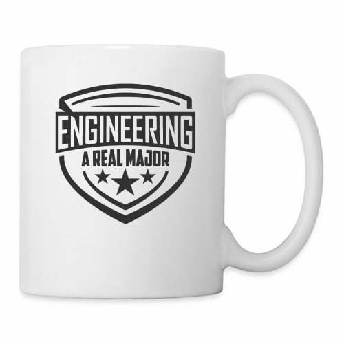 Engineering A Real Major Apparel - Shield Design - Coffee/Tea Mug