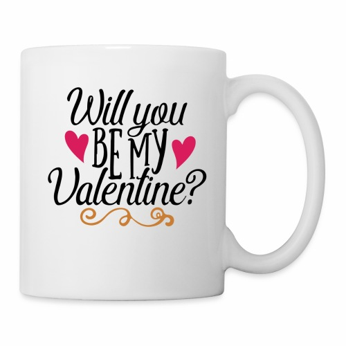 Will You be my Valentine? - Coffee/Tea Mug
