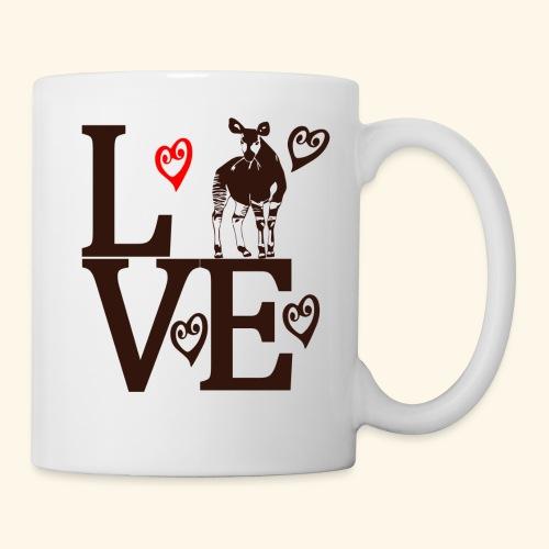 Okapi Love - Coffee/Tea Mug