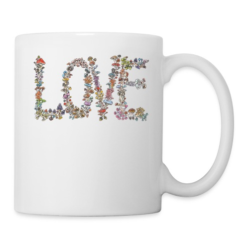 MUSHROOM LOVE - Coffee/Tea Mug