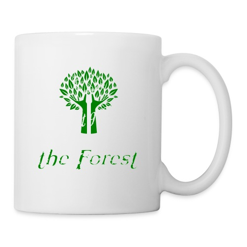 genealogy family tree forest funny birthday gift - Coffee/Tea Mug