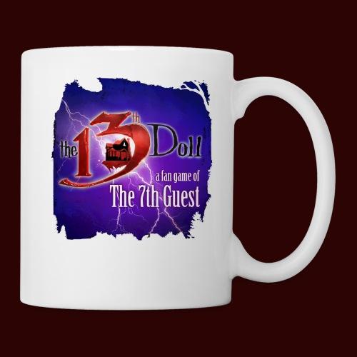 The 13th Doll Logo With Lightning - Coffee/Tea Mug