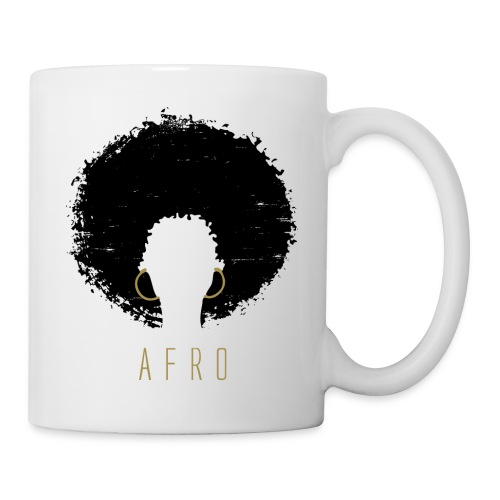 Black Afro American Latina Natural Hair - Coffee/Tea Mug