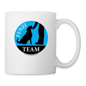 FENZITEAM Logo W - NOT FOR BLACK - Coffee/Tea Mug