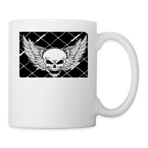 angel skull - Coffee/Tea Mug