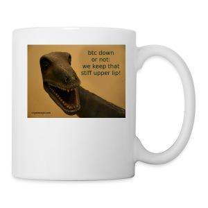up with the upperlip - Coffee/Tea Mug