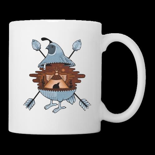 pigeon in the tent - Coffee/Tea Mug