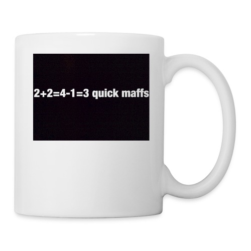 quick maffs - Coffee/Tea Mug