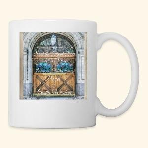 Shut the Front Door Let's Pray ! - Coffee/Tea Mug
