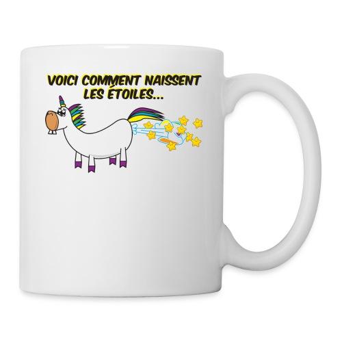 Unicorn - This is how stars are born - Coffee/Tea Mug