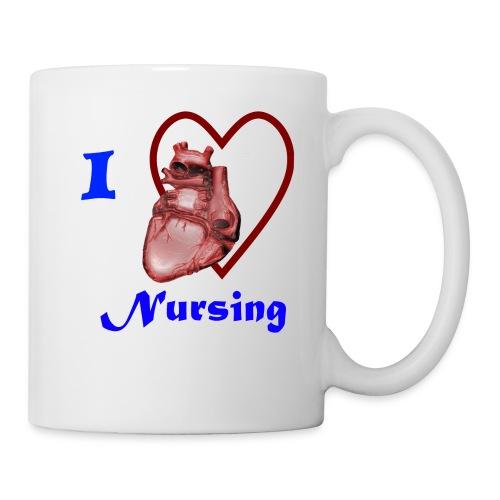 I Love Nursing - Coffee/Tea Mug