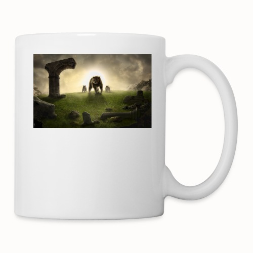 king bear with cubs merchandise - Coffee/Tea Mug