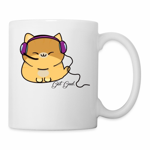 Getgud Gamer Kitty Mug - Coffee/Tea Mug