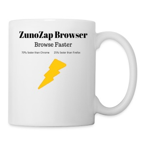 ZunoZap Merch (2nt design) - Coffee/Tea Mug