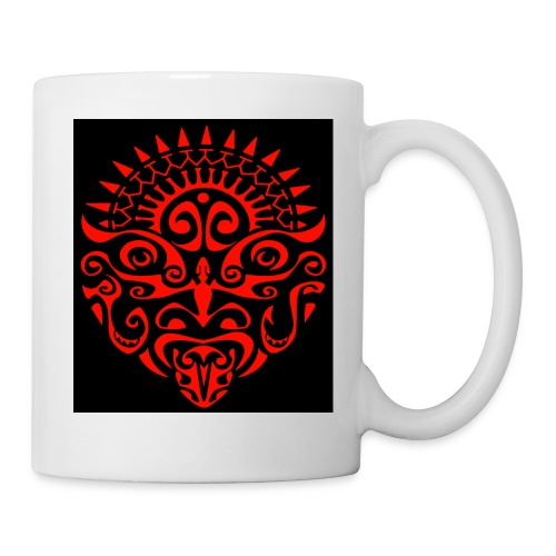 maori face - Coffee/Tea Mug