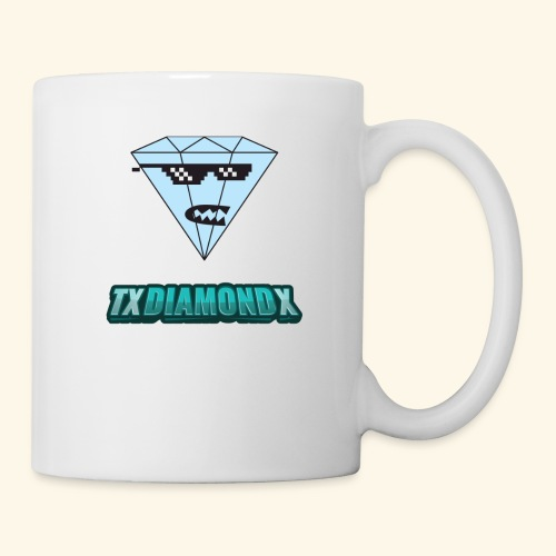 Txdiamondx Diamond Guy Logo - Coffee/Tea Mug