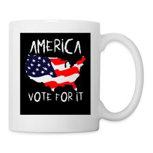 AMERICA VOTE IT - Coffee/Tea Mug