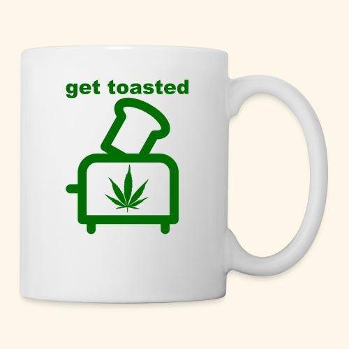 GET TOASTED - Coffee/Tea Mug