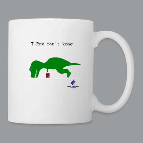 T-Rex Can't Kong - Coffee/Tea Mug