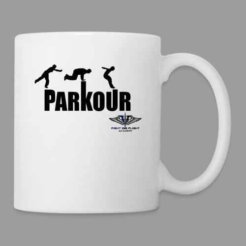 Parkour Text Kong Precision - Coffee/Tea Mug