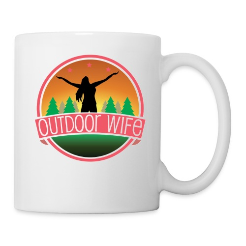 outdoorwifelogowhite 01 01 - Coffee/Tea Mug