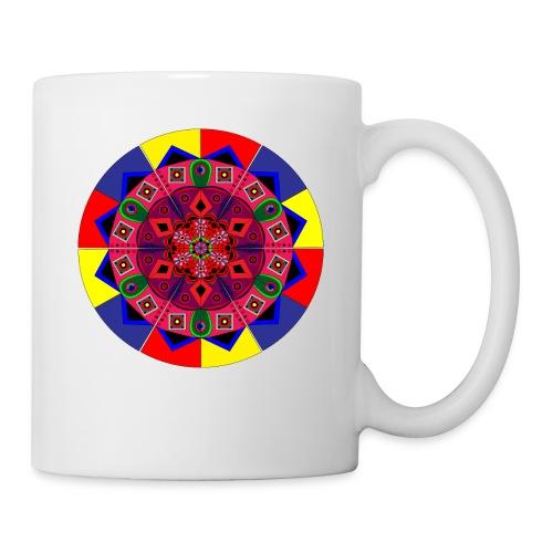 Mandala Colourful Cool Design - Coffee/Tea Mug