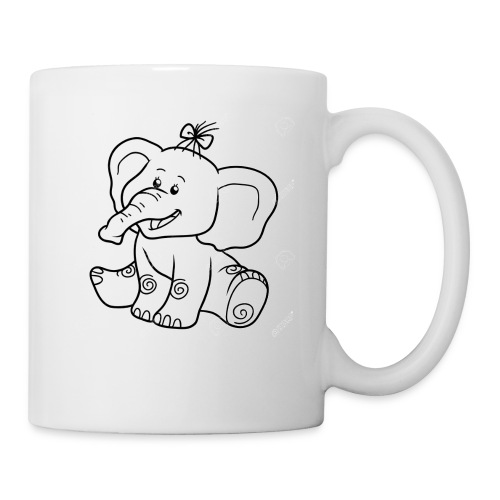 baby elephant - Coffee/Tea Mug