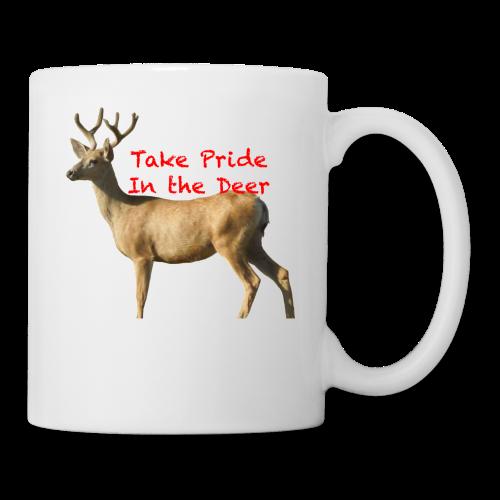 Take Pride in the Deer - Coffee/Tea Mug