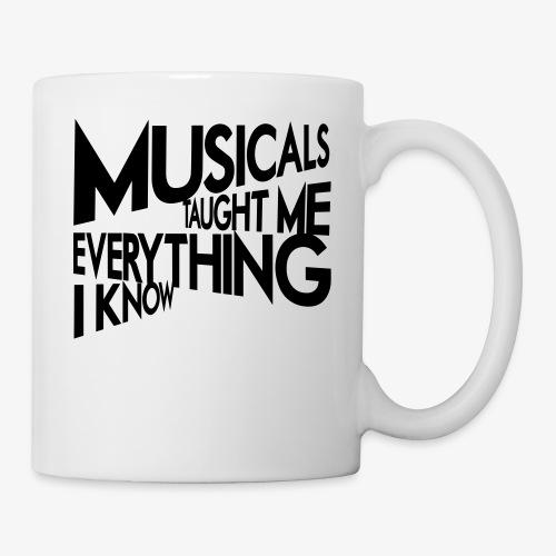 MTMEIK Black Logo - Coffee/Tea Mug