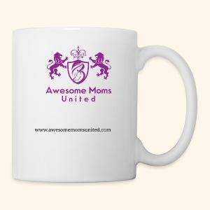 Awesome Moms United logo shirt - Coffee/Tea Mug