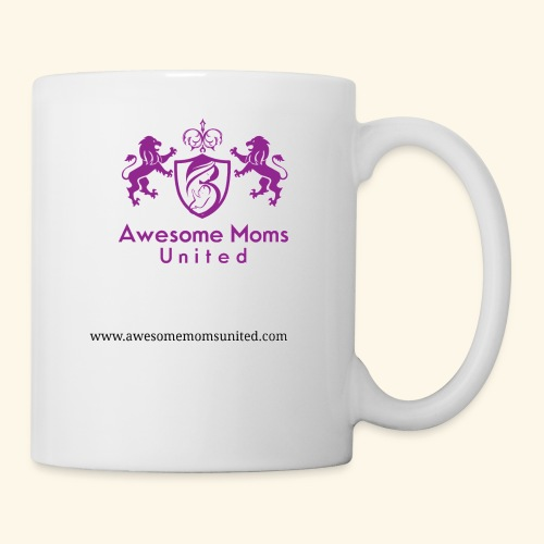 Awesome Moms United logo shirt - Coffee/Tea Mug