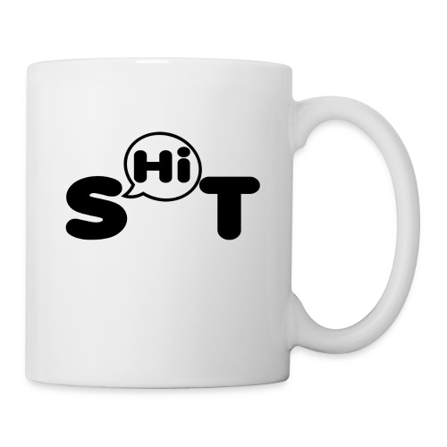 shit t shirt - Coffee/Tea Mug