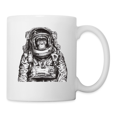 Monkey Astronaut - Coffee/Tea Mug