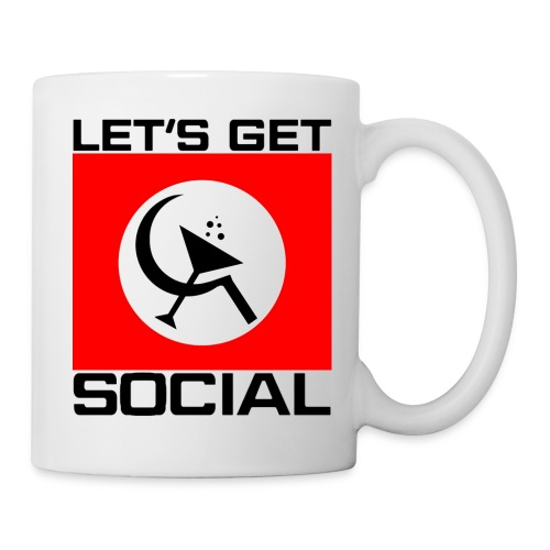 Let's Get Social as worn by Axl Rose - Coffee/Tea Mug