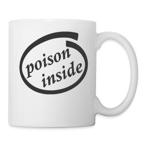 Black Poison insinde - Coffee/Tea Mug
