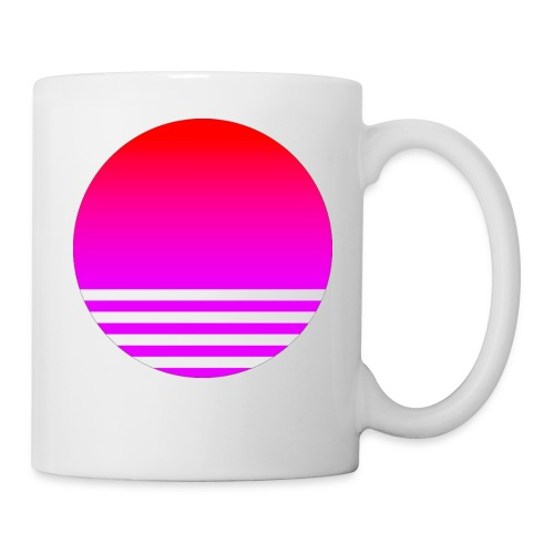 Vaporwave Sun - Coffee/Tea Mug