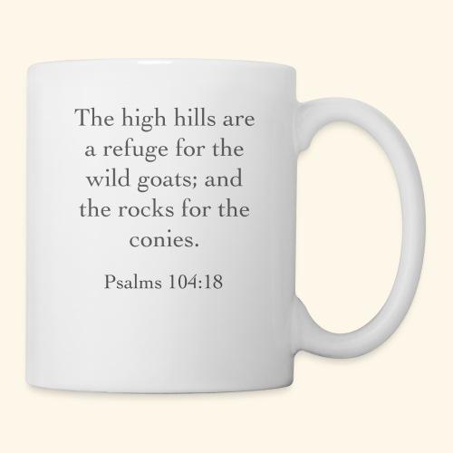High Hills KJV - Coffee/Tea Mug