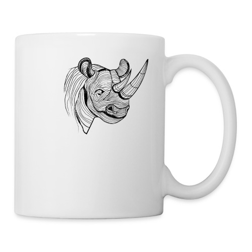 Save the Rhinos - Coffee/Tea Mug