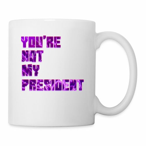 not my president with background - Coffee/Tea Mug