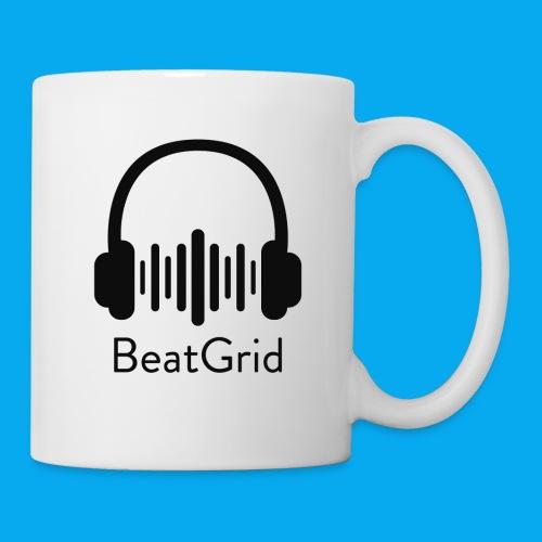 BeatGrid Classic Black Logo - Coffee/Tea Mug
