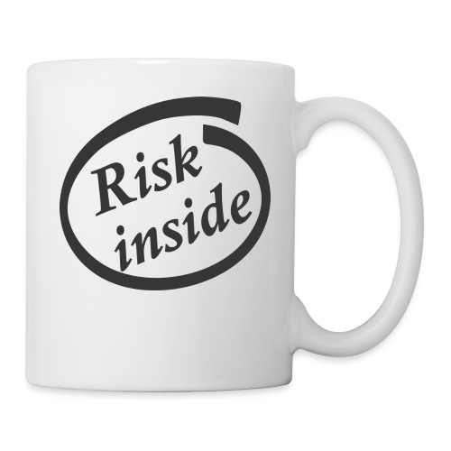 Risk inside black - Coffee/Tea Mug