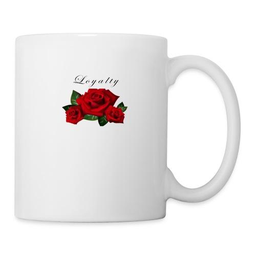 rose shirt - Coffee/Tea Mug