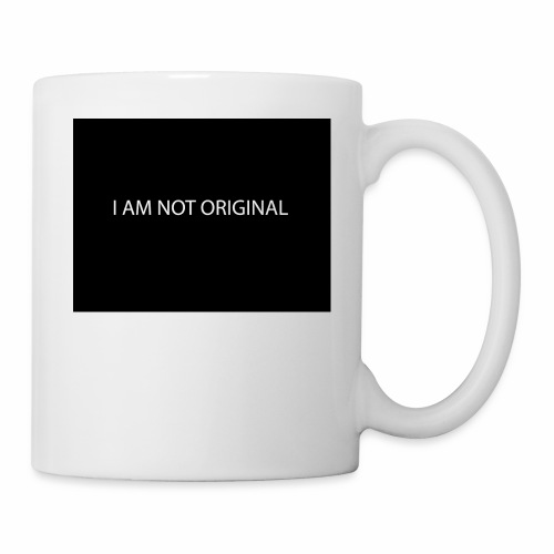 I AM NOT ORIGINAL - Coffee/Tea Mug